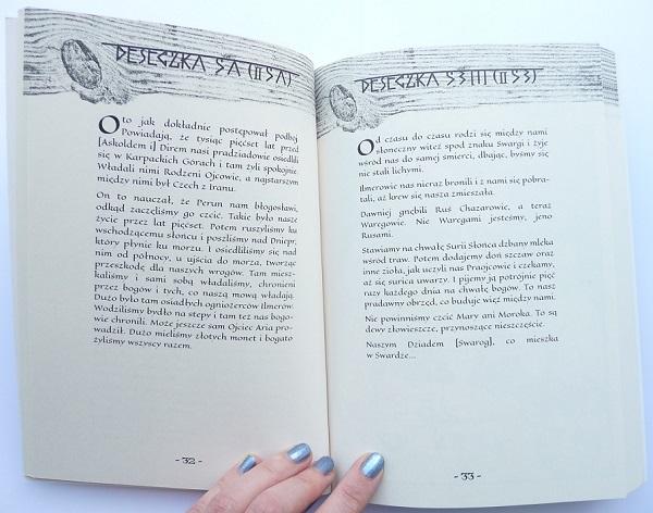 Księga Welesa obraz 1