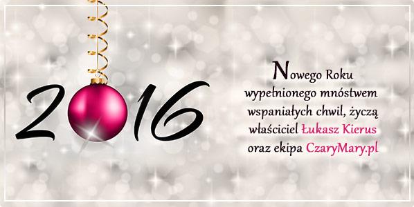 Magicznego Nowego Roku 2016