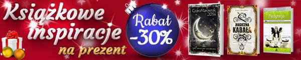 Książkowe Inspiracje na prezent z rabatem -30% >>