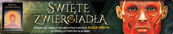 Ponad 50 obrazów medytacyjnych Alexa Greya w ekskluzywnym albumie! >>