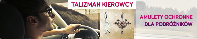 Talizman kierowcy i amulety ochronne dla podróżników