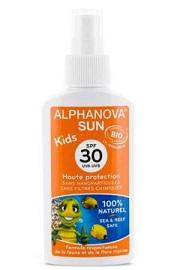 Bio Spray Przeciwsłoneczny, faktor 30. Alphanova Sun KIDS