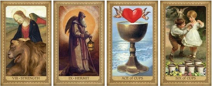 Tarot anielskich wpływów