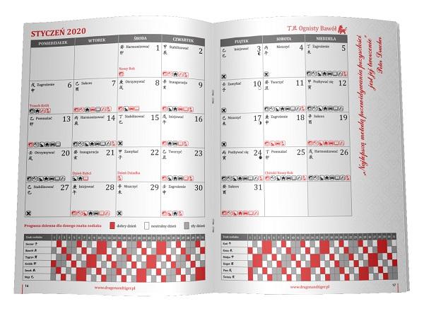 Kalendarz Feng Shui 2010