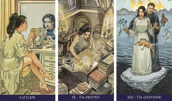 Pagan Tarot zestaw