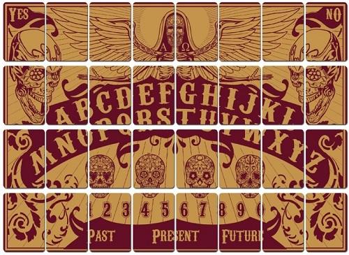 Santa Muerte Oracle koszulki kart