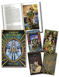 Tarot Illuminati z książką