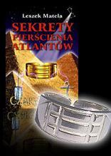 """Zestaw książka """"Sekrety pierścienia Atlantów"""" + srebrny pierścień Atlantów"""