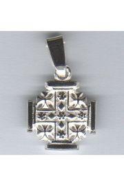 Wisior Krzyż Jerozolimski - złoto