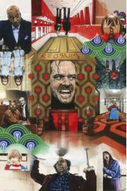 Stanley Kubrick Lśnienie - plakat