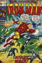 Marvel Iron Man - retro plakat