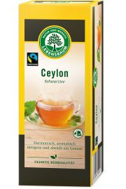 Herbata Czarna Ceylon Ekspresowa Bio (20 X 2 G) - Lebensbaum