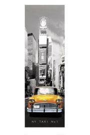 Nowy Jork taxi no 1 - reprodukcja