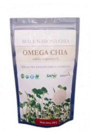 Chia - białe nasiona - 250 g - Szałwia hiszpańska