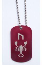Runa dla Skorpiona z 19 - 21 listopada, czerwona