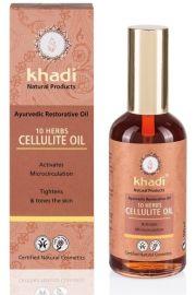 Antycellulitowy olejek z 10 ajurwedyjskich ziół Khadi 100 ml