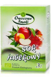 Sok Jabłkowy Bio 3 L - Owocowe Smaki