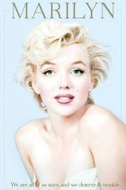 Marilyn Monroe We Are All Stars - plakat