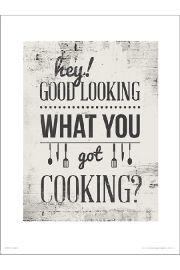 Hey Good Lookin - art print