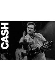 Johnny Cash Koncert w San Quentin - plakat