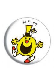 MR MENmr funny - przypinka