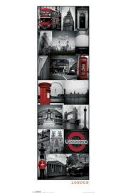 Londyn Kola� - plakat