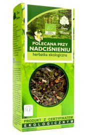 Herbatka Polecana Przy Nadciśnieniu Bio 50 G - Dary Natury