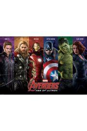 Avengers Czas Ultrona Dru�yna - plakat