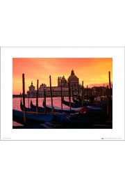 Tom Mackie Venice Dusk - art print