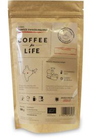 Kawa 100% Arabica Mielona Indie Bio 200 G - Ale Eko Cafe