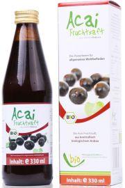 Sok Z Acai I Owoców Granatu Bio 330 Ml - Medicura