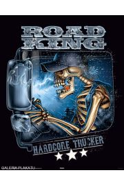 Hardcore Trucker - Kierowca Tira - plakat