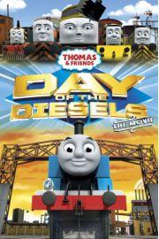 Tomek i Przyjaciele - Ciuchcie - Thomas - plakat