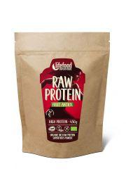 Białko Roślinne O Smaku Owocowym Raw Bezglutenowe Bio 450 G - Lifefood