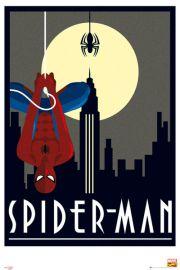 Marvel Spiderman Retro - plakat
