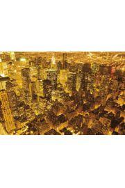 Nowy Jork - Światła Nocą - plakat