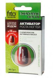 Odżywka na porost paznokci jod morski nat. ekstrakty z ziół FIT Fitocosmetic