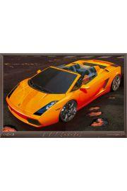 Lamborghini - Lawa Lambo - plakat