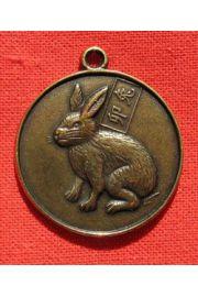 Zaj�c - talizman rozwija intuicj�, pomaga w zdobyciu wiedzy o ludzkiej psychice