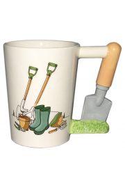 Ceramiczny kubek dla ogrodnika - Szpachelka