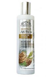 Stymulujący szampon do włosów Organiczny Cedr POA Planeta Organica.