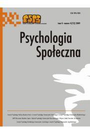 Psychologia Spo�eczna nr 4(12)/2009