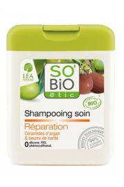 SO BIO, Kremowy szampon regeneruj�cy z Olejkiem Arganowym do w�os�w zniszczonych, 250ml