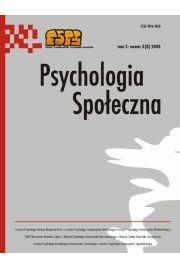 Psychologia Spo�eczna nr 3(8)/2008