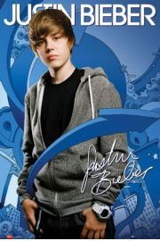 Justin Bieber Strza�y - plakat