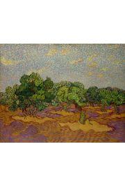 Olive Trees, Vincent van Gogh - plakat