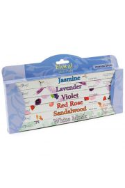 Kadzidełka  Stamford  - zestaw 6 pudełek o zapachu kwiatowym