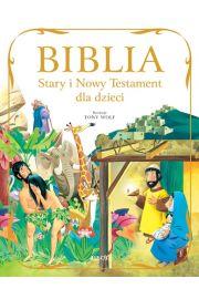 Biblia Stary i Nowy Testament dla dzieci