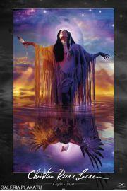 Lassen - Indianin - Duch Orła - plakat