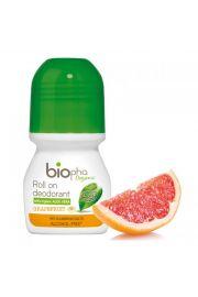 BIOpha, Dezodorant odświeżający Grejpfrut, 50ml